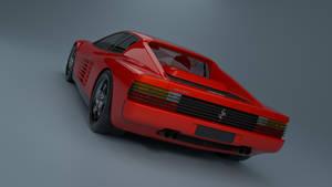 Ferrari Testarossa Back