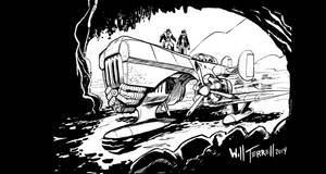 Inktober 02 - Expedition by willterrell