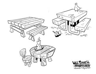 Prop-designs Tables by willterrell