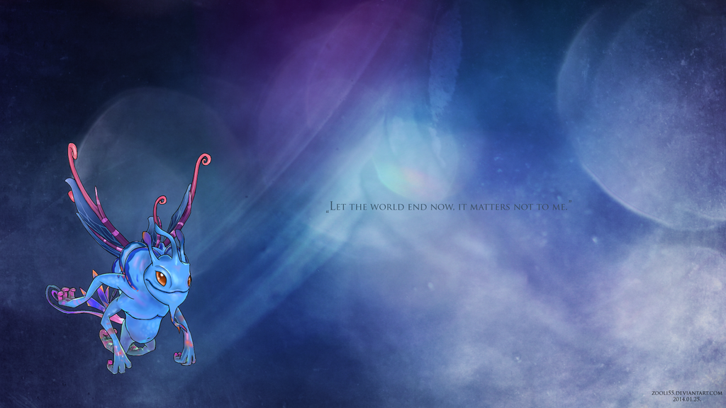 puck dota 2 wallpaper v2 by zooli55 on deviantart