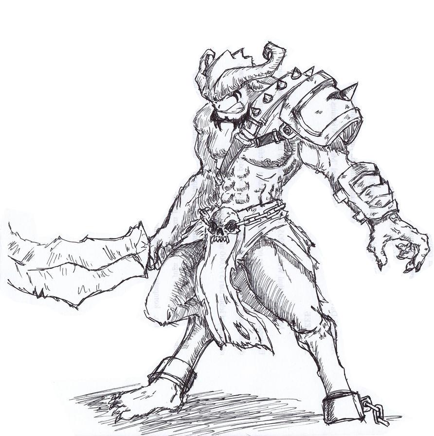 Unknown Beast by DanZelt