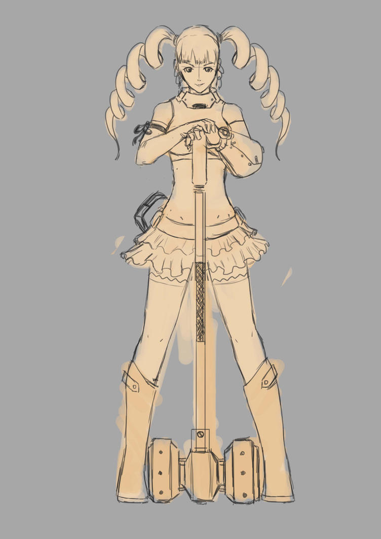 Sketch Char02 by DanZelt
