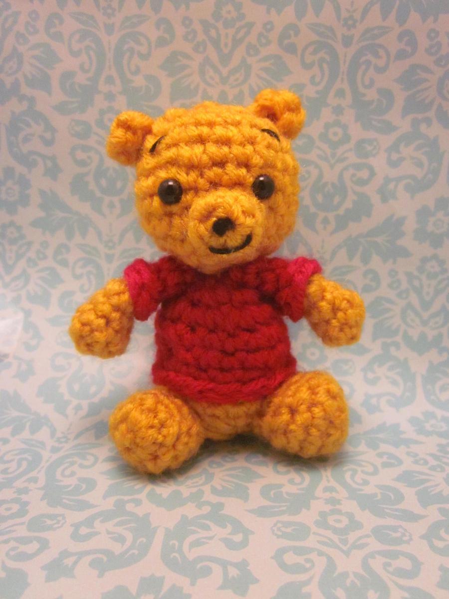 Amigurumi Winnie The Pooh : Wee Little Winnie the Pooh Amigurumi Doll by Spudsstitches ...