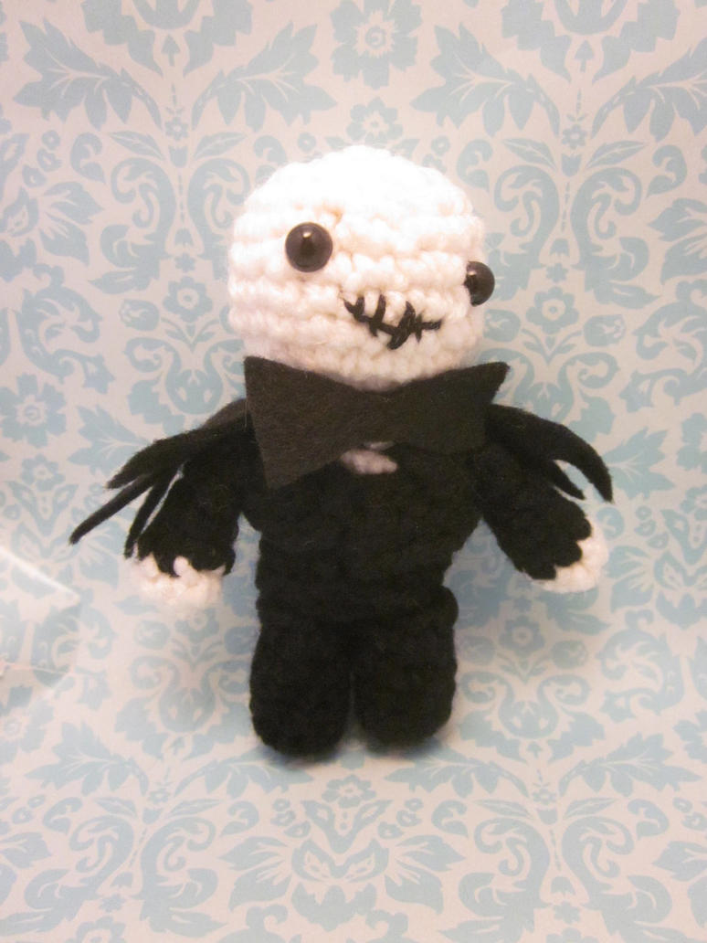 Wee Little Jack Skellington Amigurumi Doll by Spudsstitches on deviantART