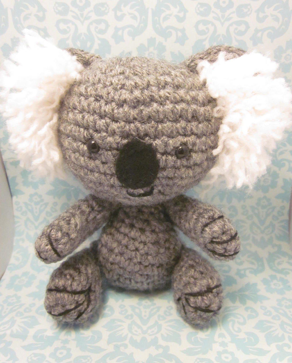 Koala Amigurumi Patron Gratis : Smiling Koala Amigurumi Crochet Doll 2 by Spudsstitches on ...