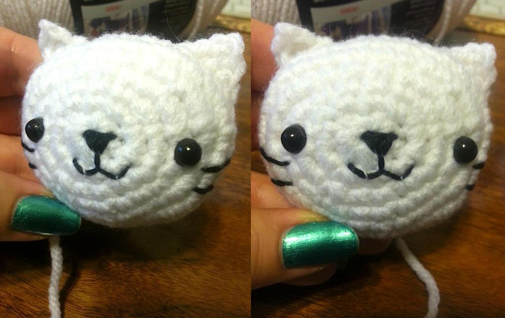 Nyan Cat Amigurumi Free Pattern : Work in Progress: Nyan Nyan Nyanko Cat Amigurumi by ...