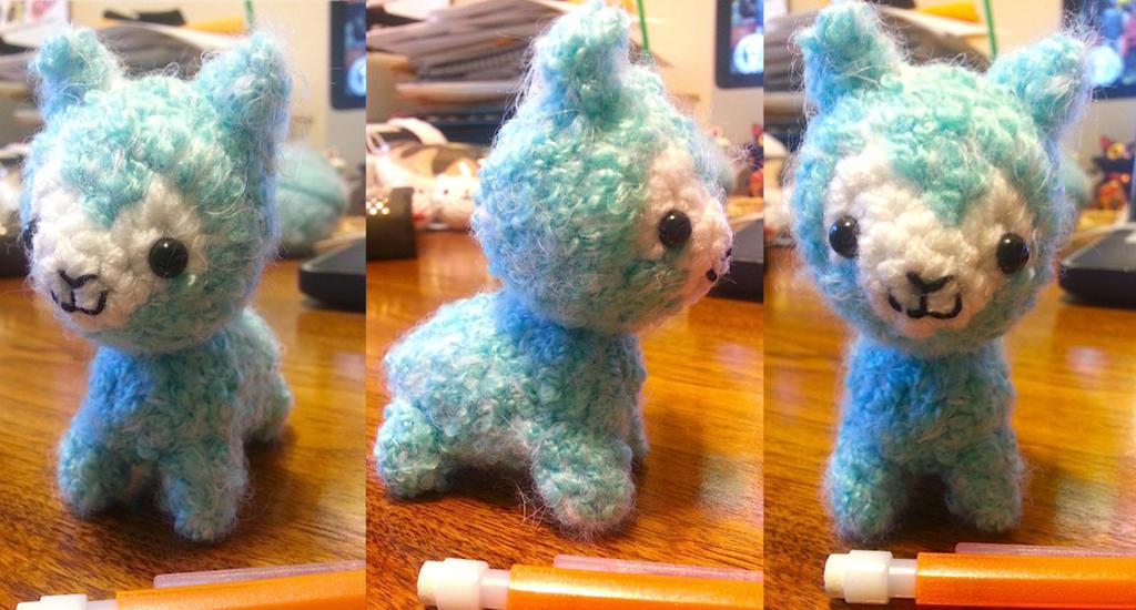 Alpaca Amigurumi Pattern Free : Arpakasso alpaca llama amigurumi by spudsstitches on deviantart