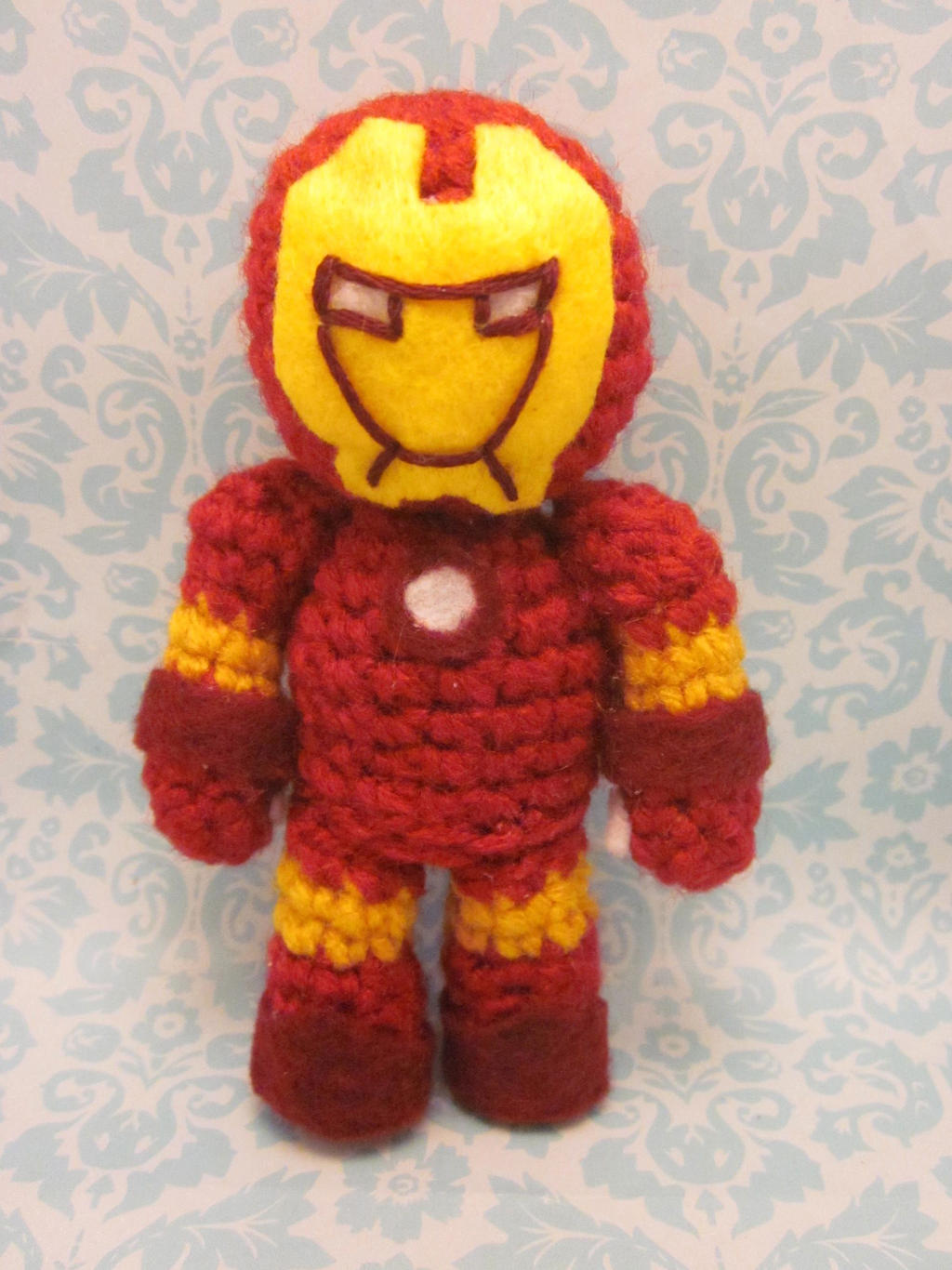 Iron Man Amigurumi Crochet Doll by Spudsstitches on DeviantArt