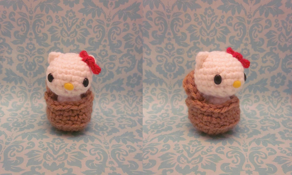 Amigurumi Hello Kitty Bruja : Toto Basket Wizard of Oz Hello Kitty Amigurumi by ...