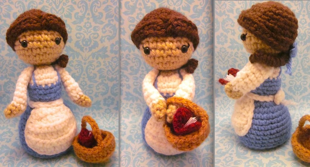 Picasa Amigurumi Disney : Belle Amigurumi from Disney Beauty and the Beast by ...