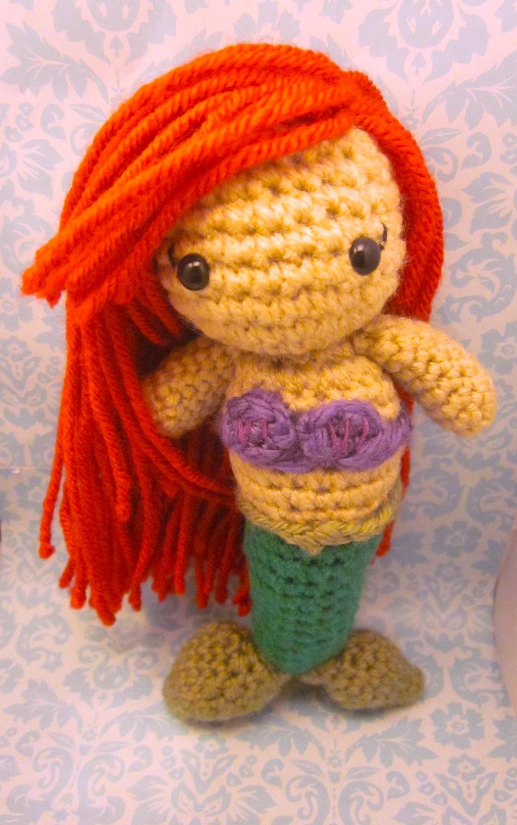 The Little Mermaid Ariel Amigurumi Doll1 by Spudsstitches ...