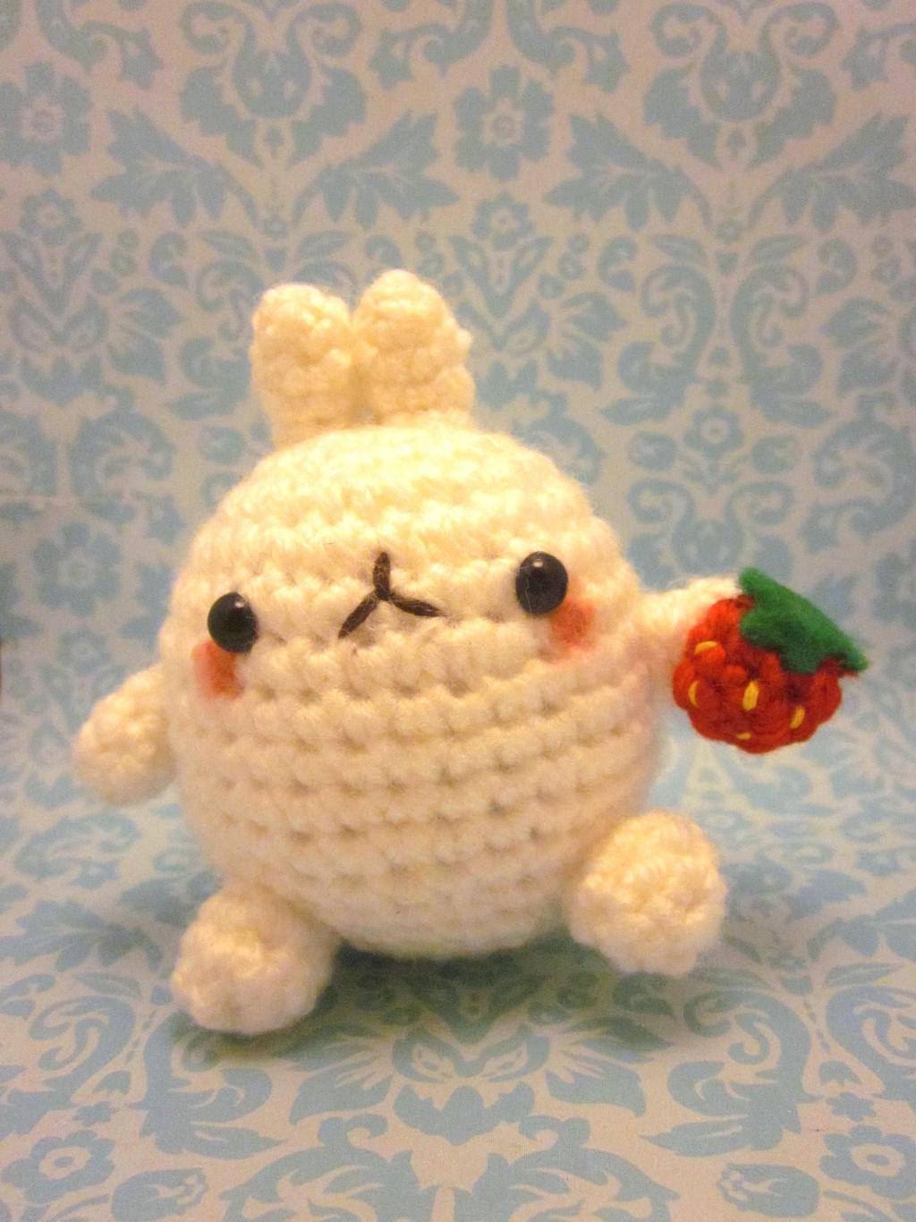 Adorable Mia Strawberry Girl Crochet Pattern » Amigurumi Crochet ... | 1366x1024