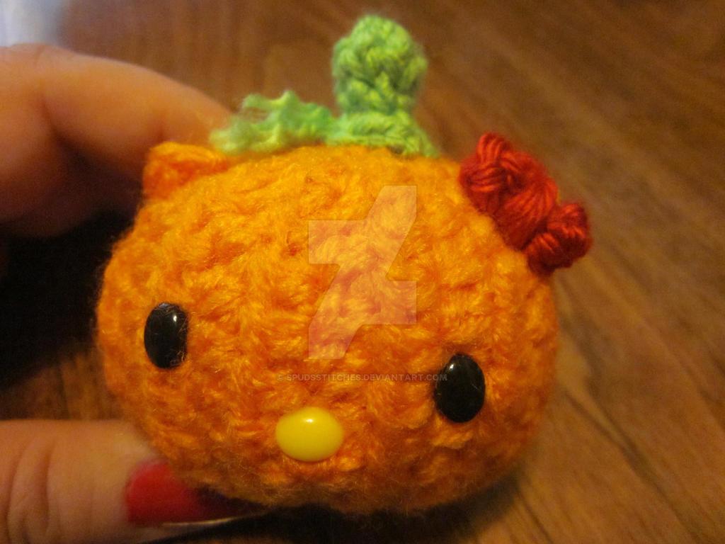 Hello Kitty Halloween Amigurumi : Halloween Pumpkin Hello Kitty Amigurumi by Spudsstitches ...