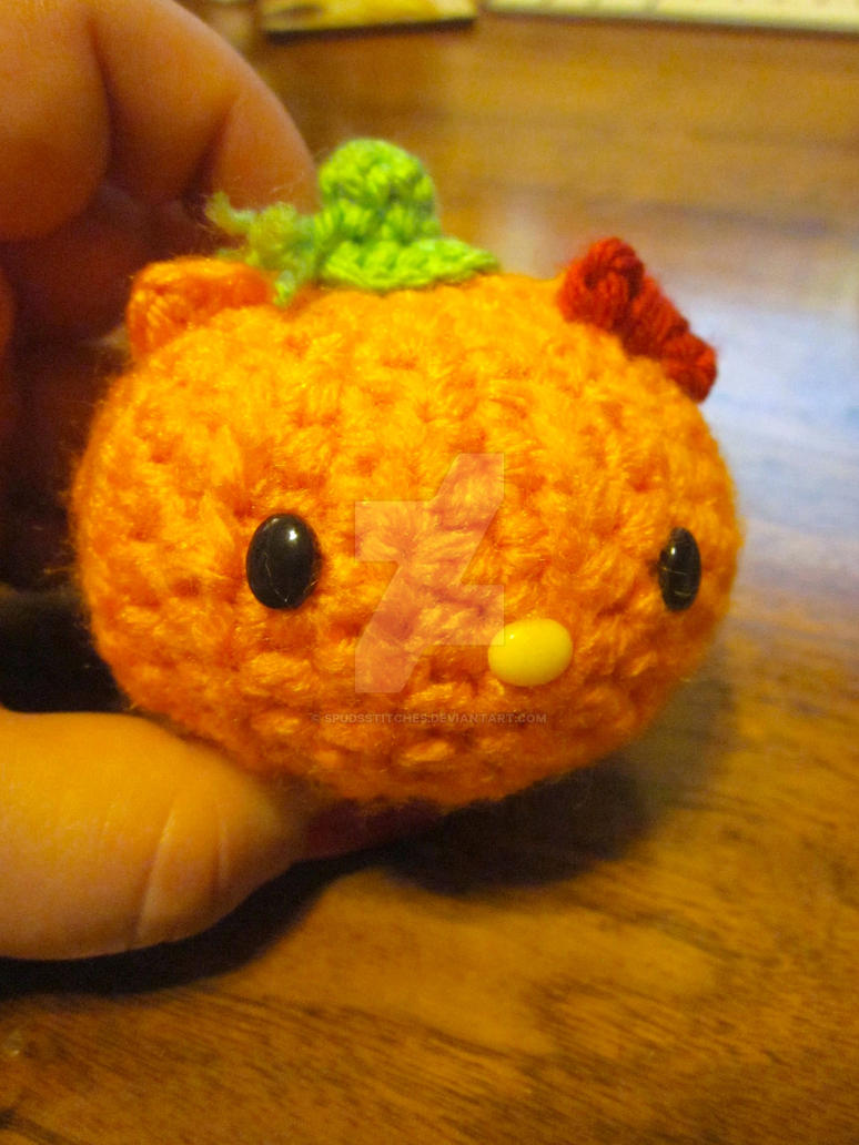 Hello Kitty Halloween Amigurumi : Halloween Pumpkins Hello Kitty Amigurumi by Spudsstitches ...