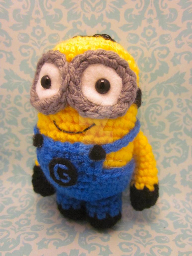 Amigurumi Crochet Minion : Minion Despicable Me Amigurumi Crochet Doll2 by ...