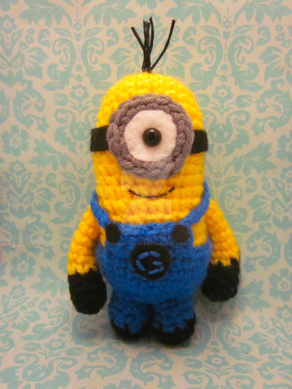 Amigurumi Crochet Minion : Minion Despicable Me Amigurumi Crochet Doll3 by ...