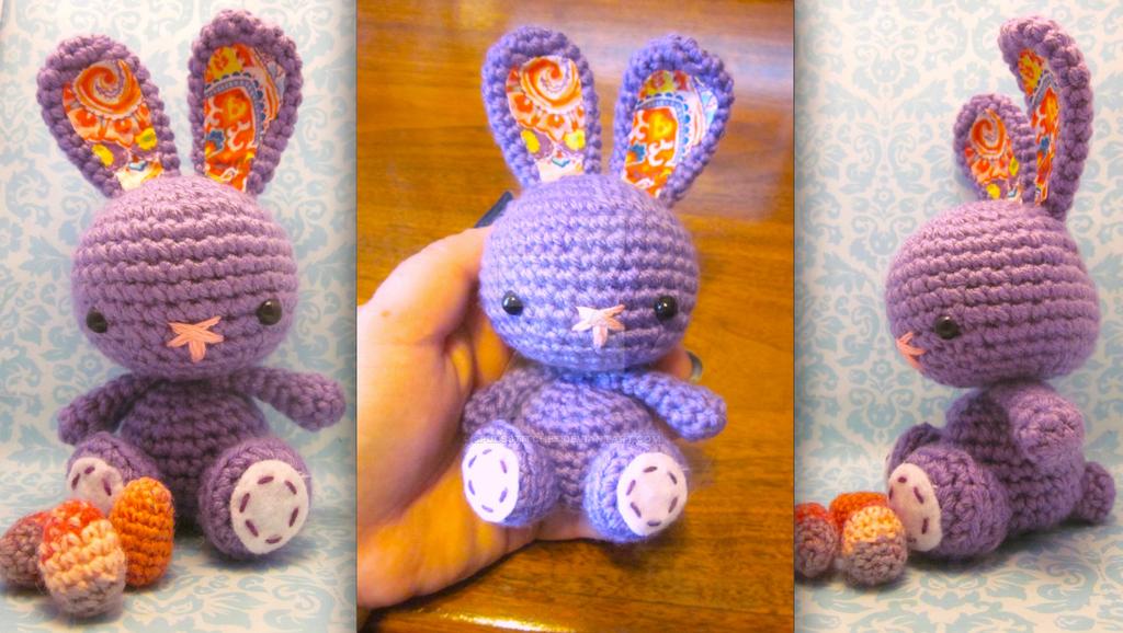 Spring Easter Bunny Rabbit Amigurumi Crochet Doll1 by ...