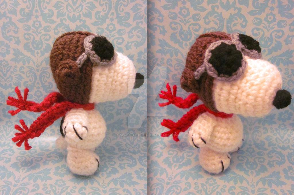 Snoopy Amigurumi Crochet Kit | Stitch & Story - Stitch & Story USA | 681x1024