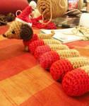 WIP Lil Dachshund Wiener Dog Christmas Ornament