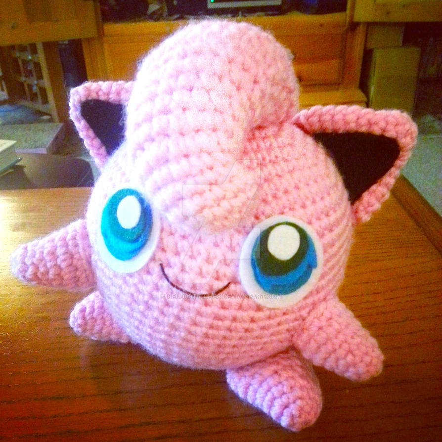 Amigurumi Jigglypuff Pattern : Jigglypuff Amigurumi Custom Order 2 by Spudsstitches on ...