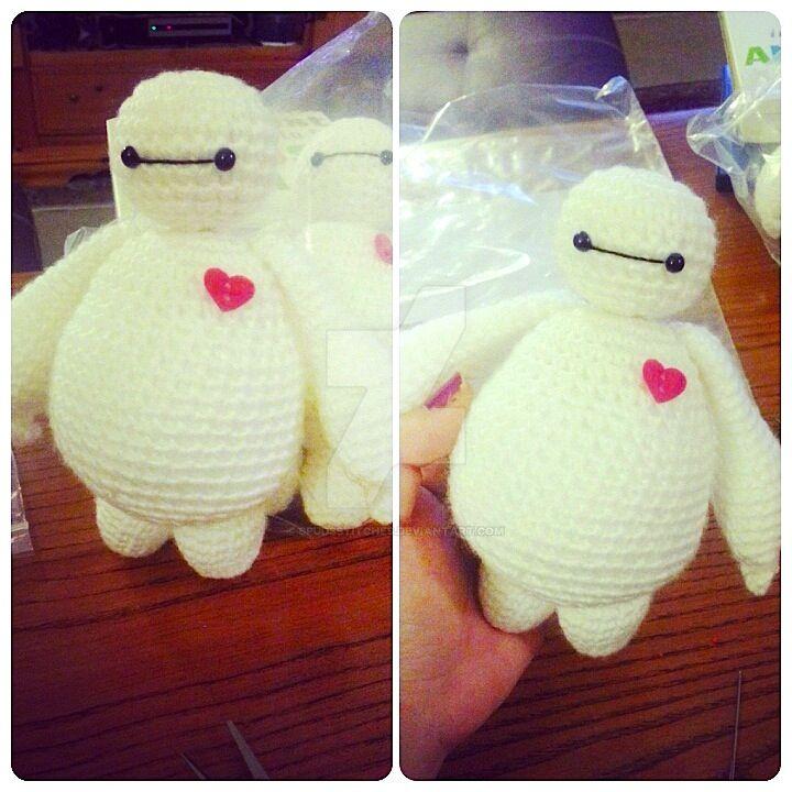 Baymax Big Hero 6 Amigurumi Crochet Doll 4 by ...