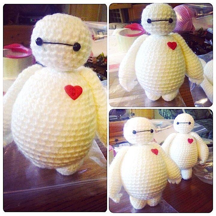 Crochet Amigurumi Baymax Pattern : Baymax Big Hero 6 Amigurumi Crochet Doll 2 by ...