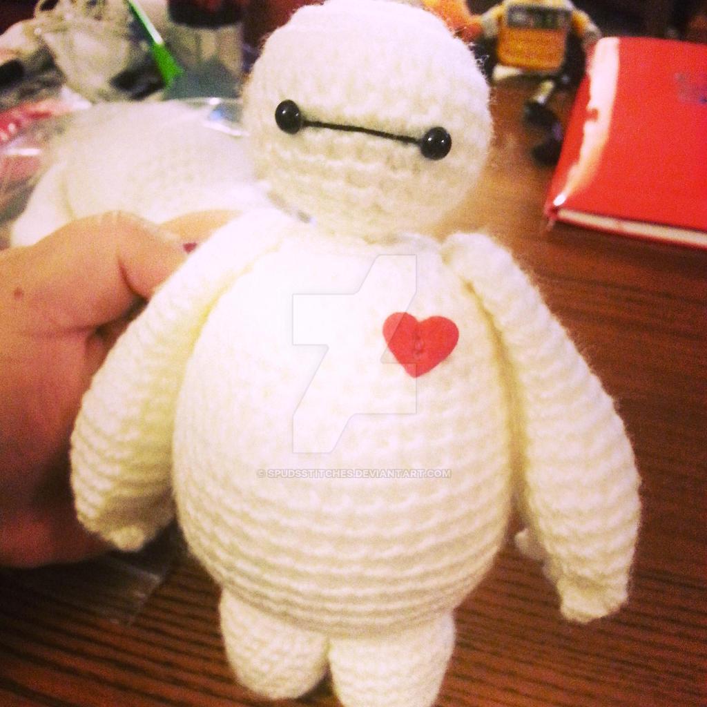 Crochet Amigurumi Baymax Pattern : Baymax Big Hero 6 Amigurumi Crochet Doll 3 by ...