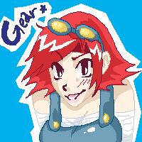 gearSHIFT: Gear pixel by kchuu