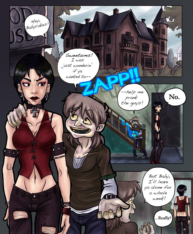 X-Men Evolution Comic pg 1 by kchuu