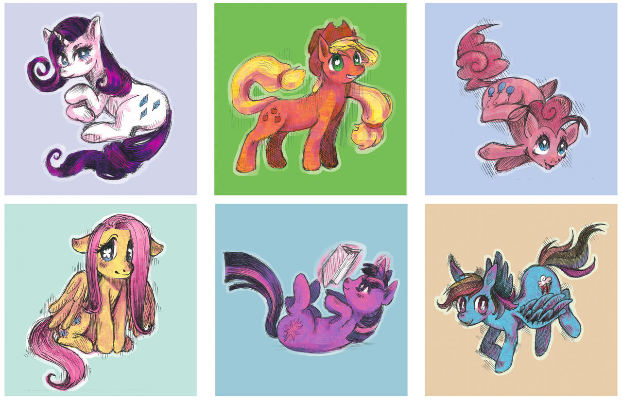 Mane6 Style Experiment by kchuu