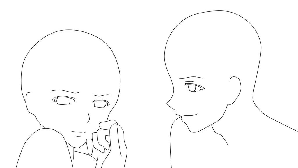 Pictures Of Anime Sketch Base Kidskunstinfo
