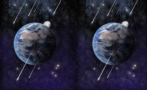 Stereoscopic Earth by Felipegm