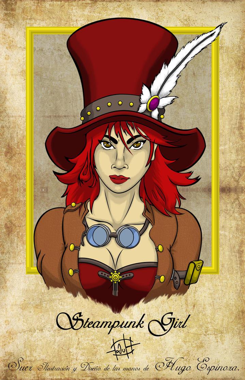 Steampunk Girl by Suez-H3