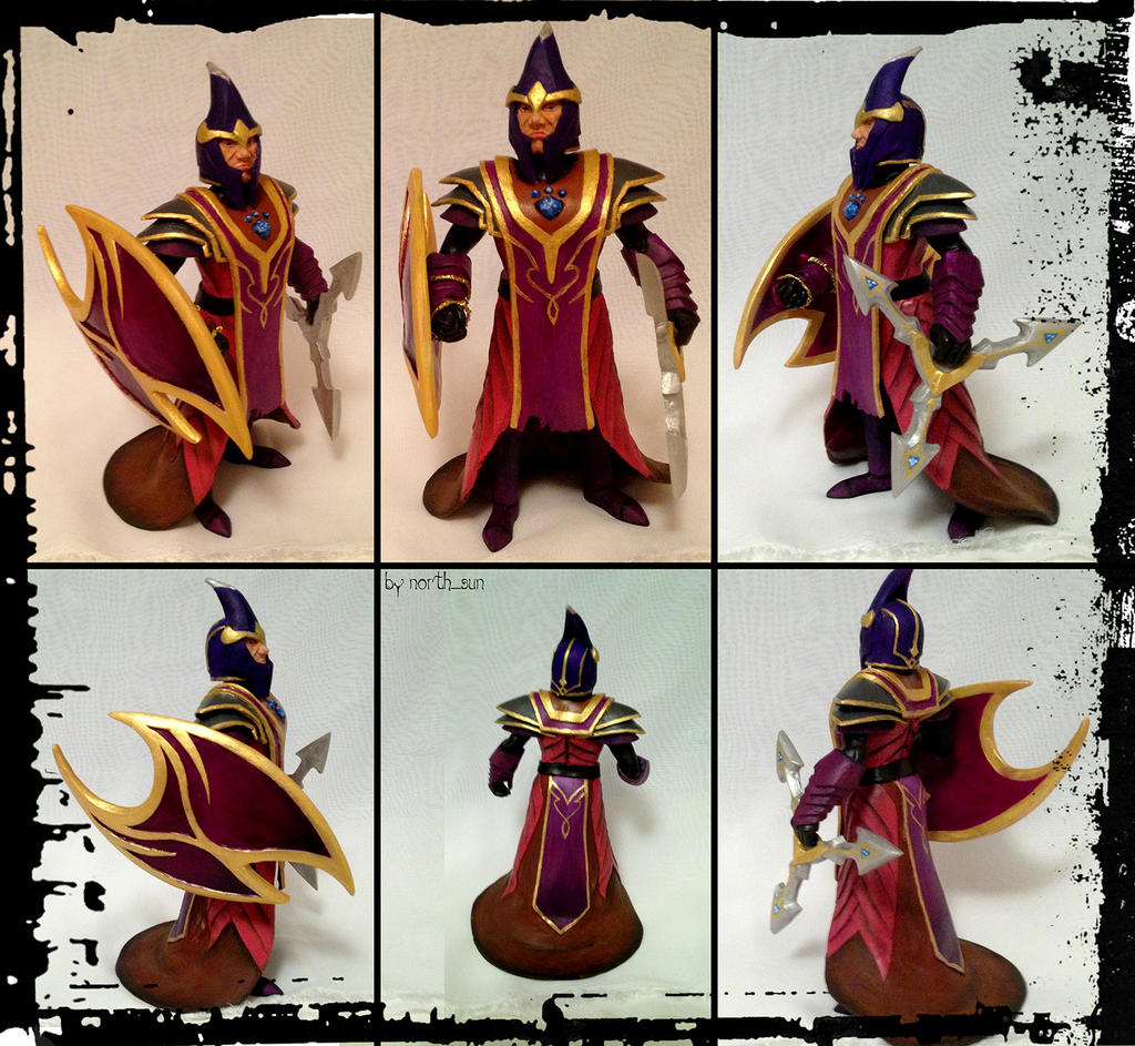 silencer dota2 clay model by linayto on deviantart