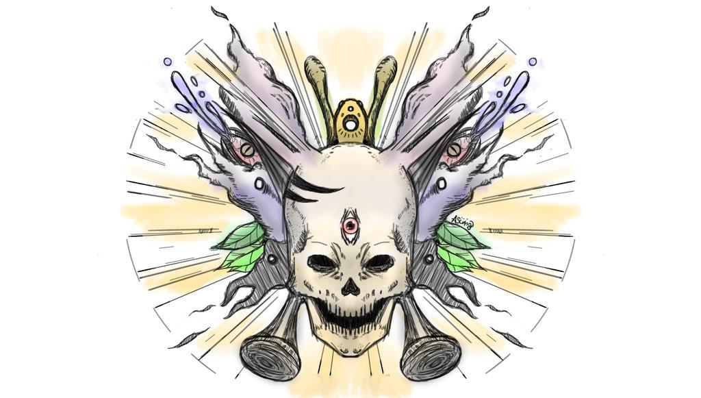 Skull by Sodoow