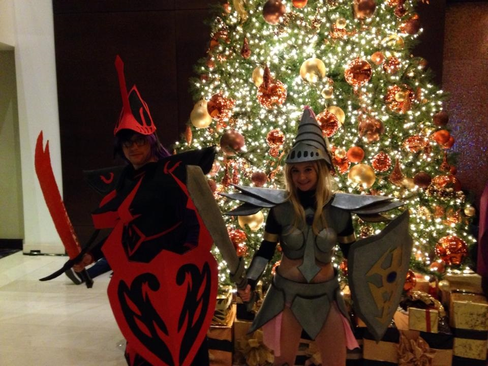 C+A+D 2014 (3) - A Knightly Christmas by GuardianOfCliffton