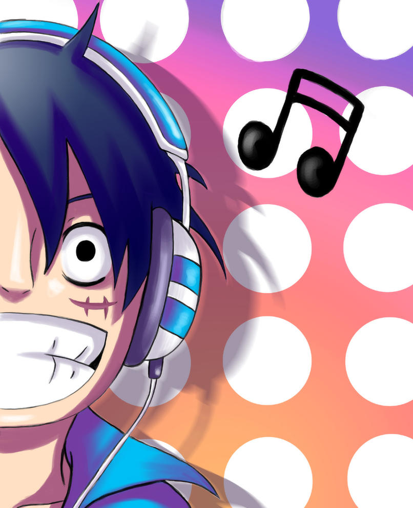 Luffy Loves Music 3 By Rali 95