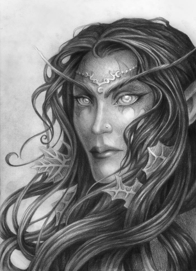 Night Elf 4 Years Later By Rali 95 On Deviantart