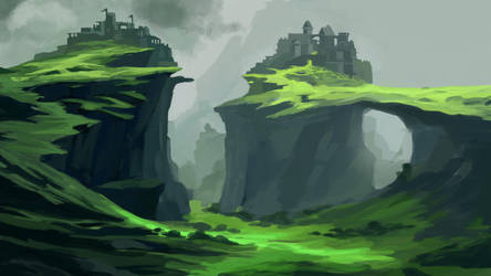 The green Mountains by Rali-95