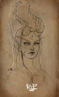 Demon Huntress by Rali-95