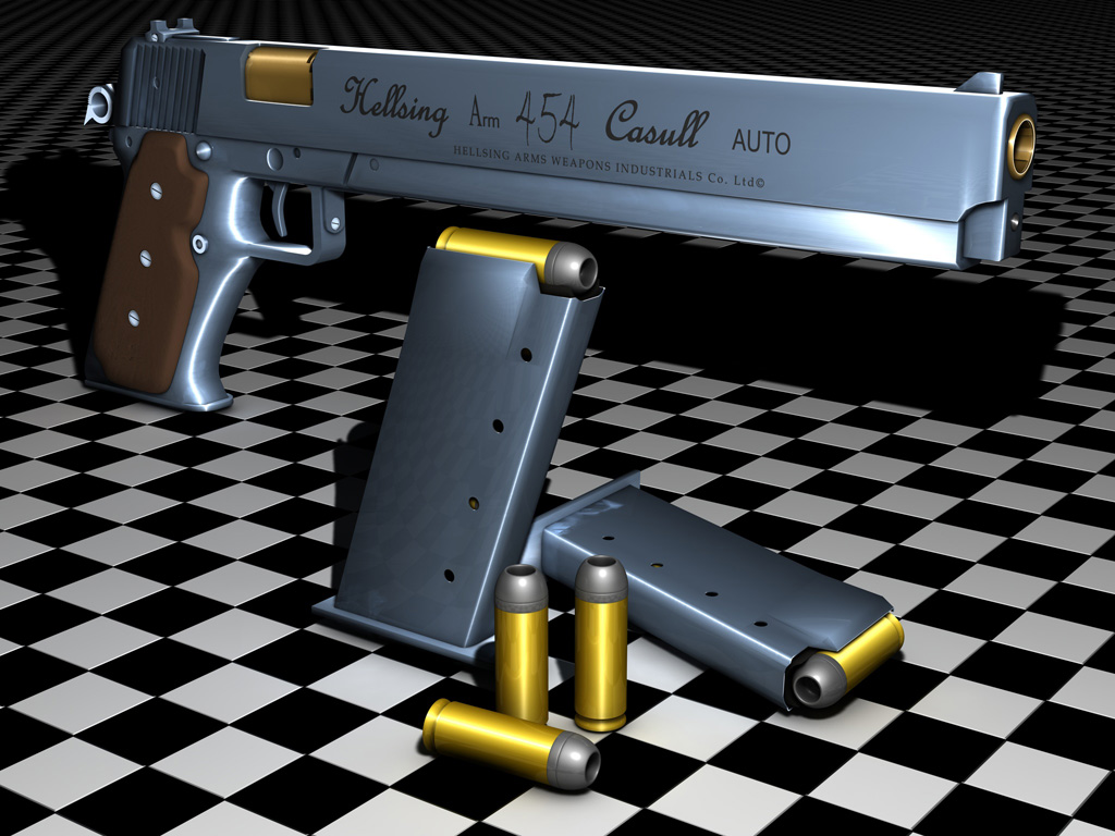 Hellsing ARM .454 Casull Auto by Rethana