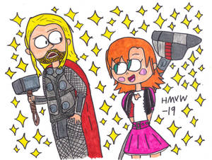 Thor and Nora