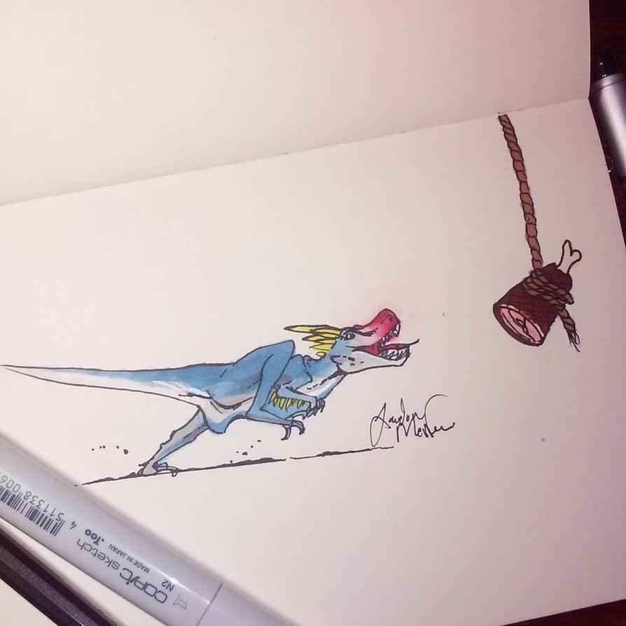 Hungry Raptor by Jatasgo