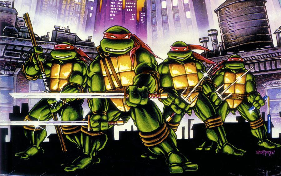 Teenage mutant ninja turtles comic wallpaper - photo#39