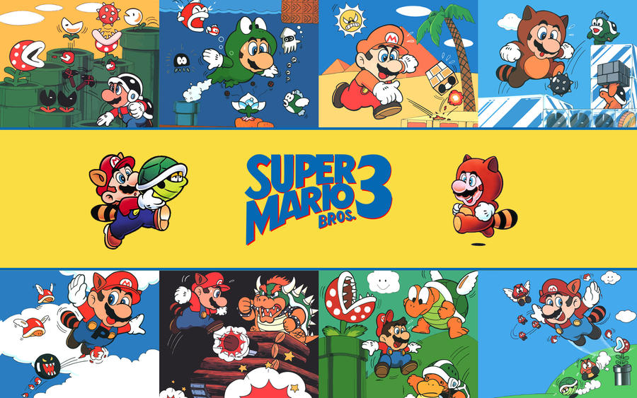 Super Mario Bros 3 Wallpaper By FistfulOfYoshi