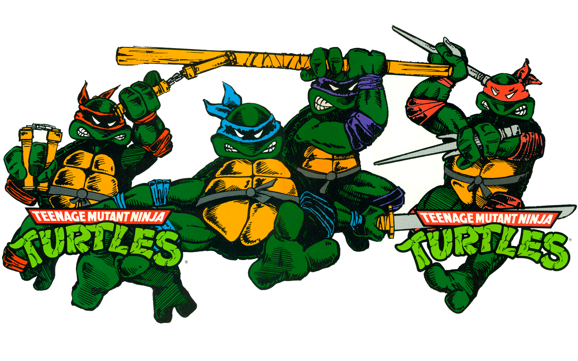 HD Teenage Mutant Ninja Turtles Wallpaper