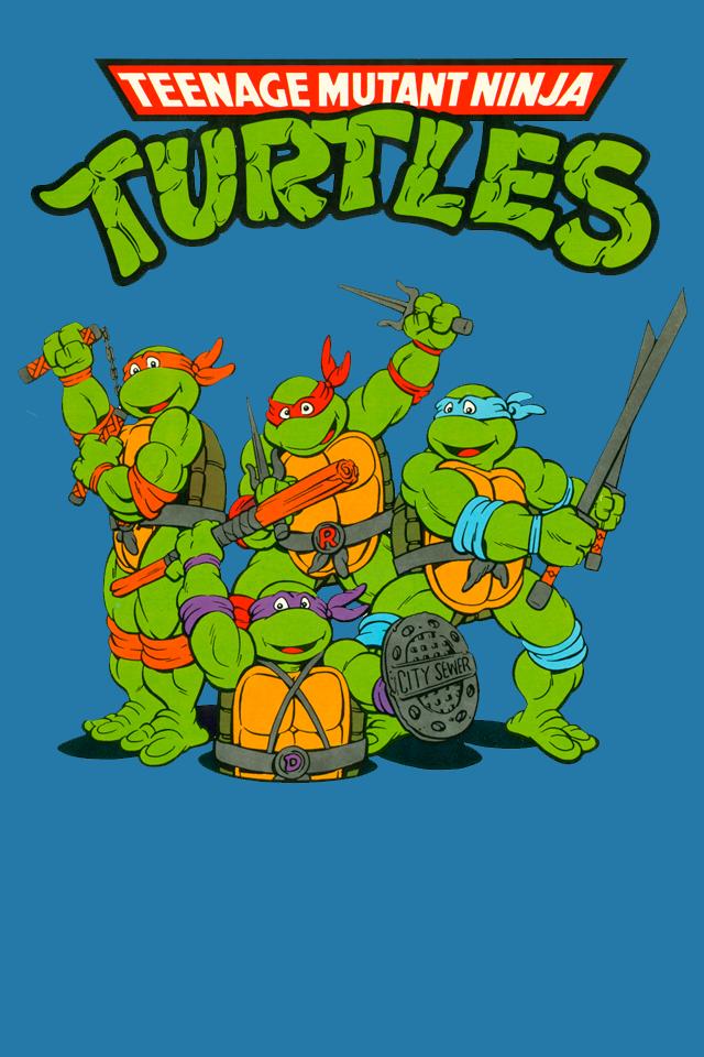 ninja turtle cartoon wallpaper
