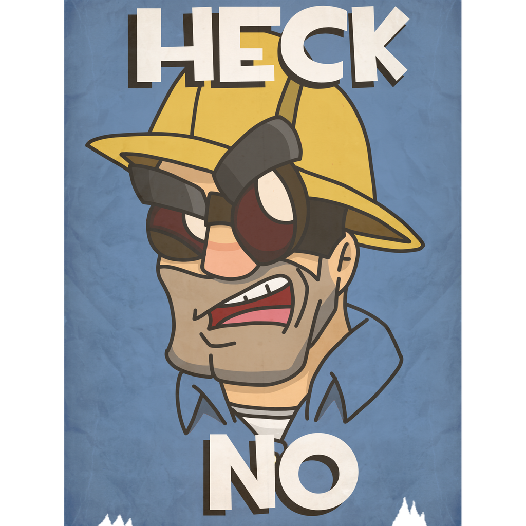 engineer poster blu by theps2gator on deviantart
