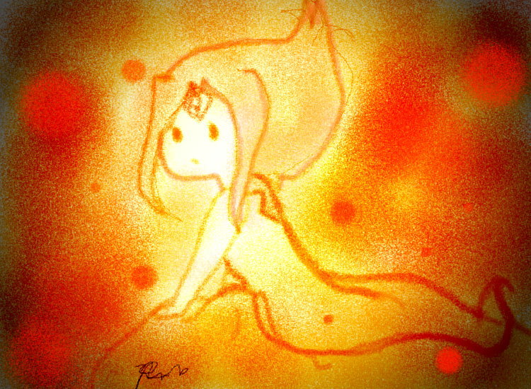 Flame Princess by riamarie33