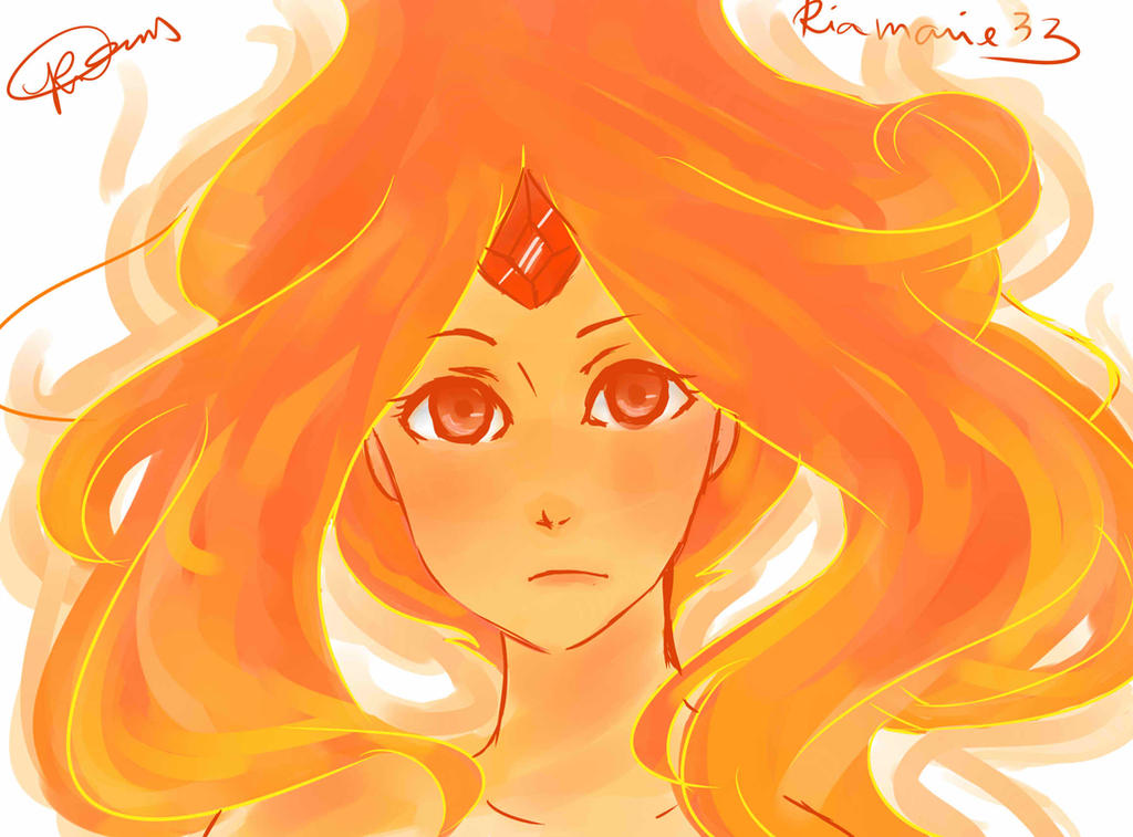 Girl on Fire by riamarie33
